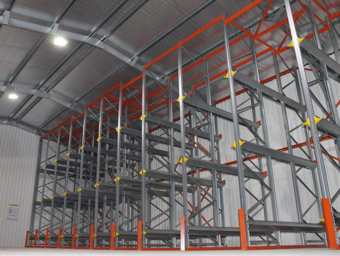 What type of racking should I use for my abattoir?