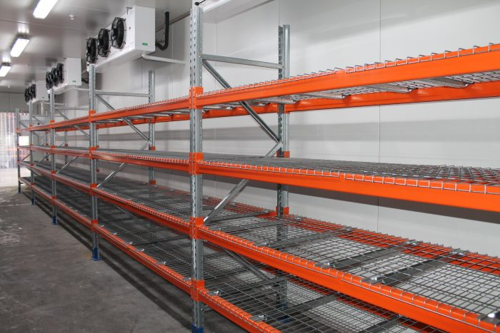 Can I install my pallet racking in a coolroom or freezer?