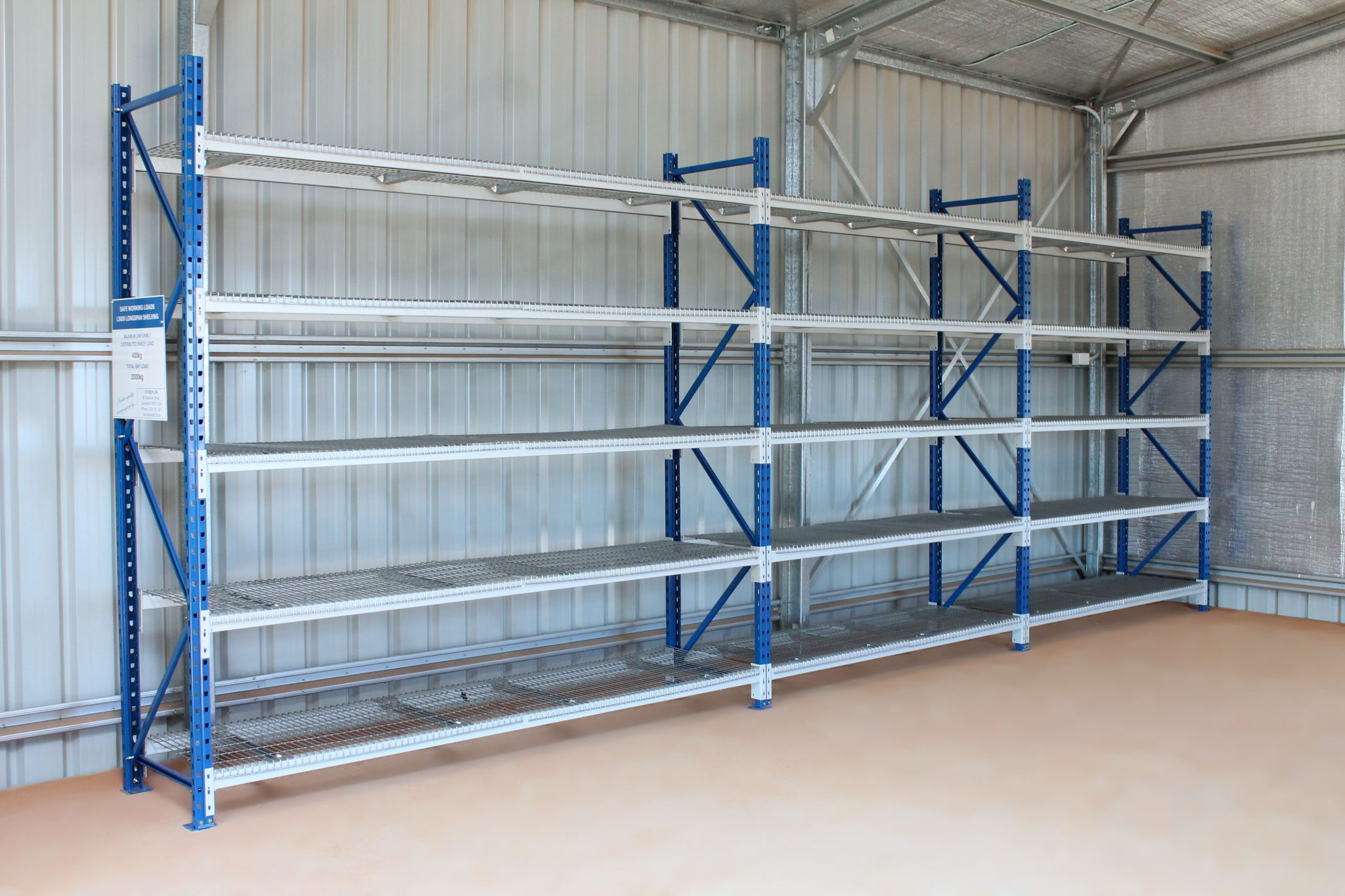 Longspan Shelving Supplier In Australia Storeplan