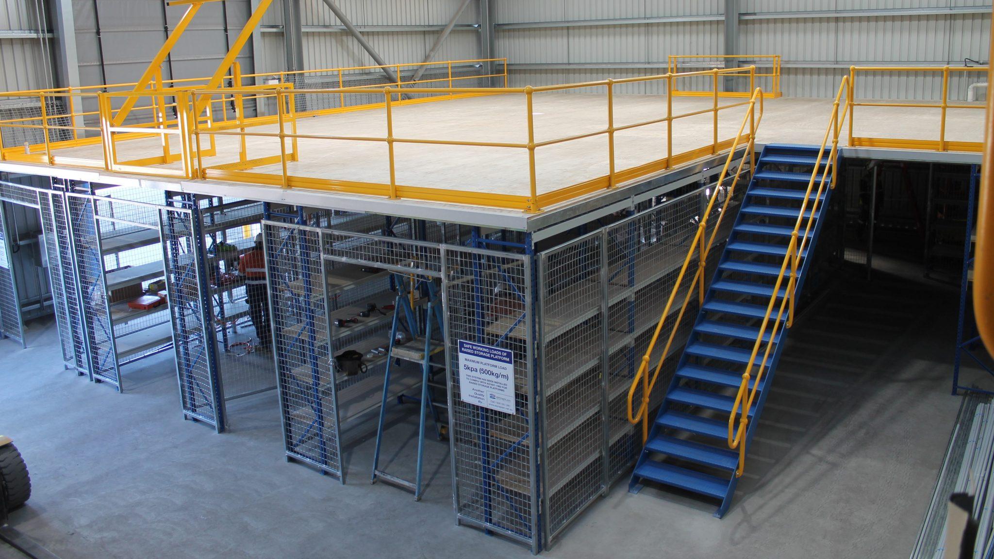 Longspan Supported Mezzanine - Storeplan
