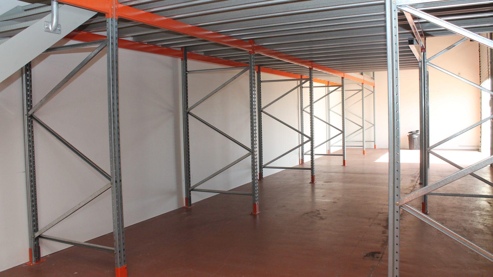 Pallet Racking Supported Mezzanine Floor   NSW AU   Storeplan