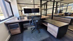 Timber Corner Manager Desk Dulux