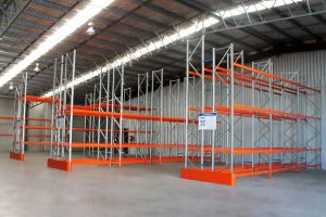 selective pallet racking at a Tamworth warehouse