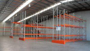 pallet racking at a Tamworth warehouse