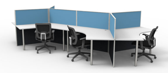Workstations in a Office