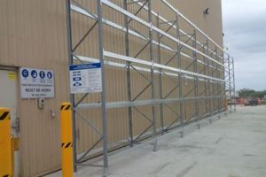 Galvanised Pallet Racking