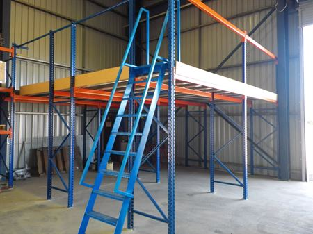 Pallet Racking Supported Mezzanine Storeplan