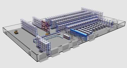 warehouse storage plan