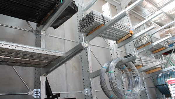 Galvanised Cantilever Racking