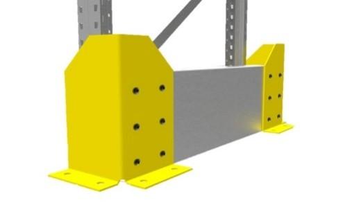 Rack End Protector Single
