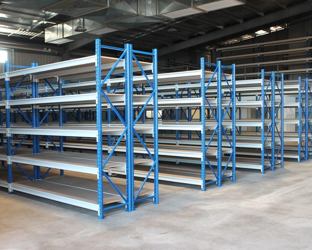 INDUSTRIAL WAREHOUSE SHELVING SYSTEMS