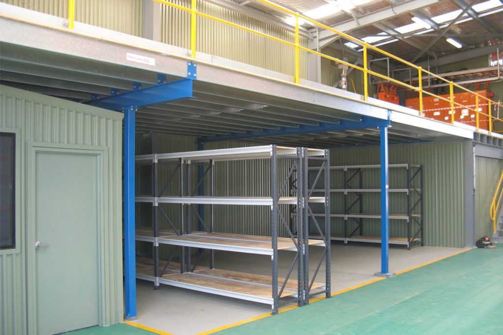 What are the advantages of having a mezzanine floor?