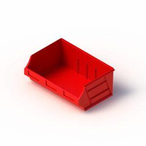 red tech-bin micro bins