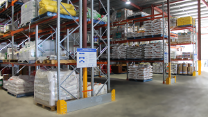 selective pallet racking installation