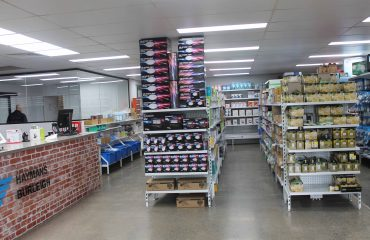 Showroom Display Shelving