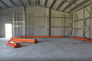Selective pallet racking installed in a shed NSW