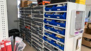 Automotive Service & Parts_RUT Shelving