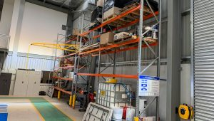 Automotive Service & Parts_Rated Pallet Racking