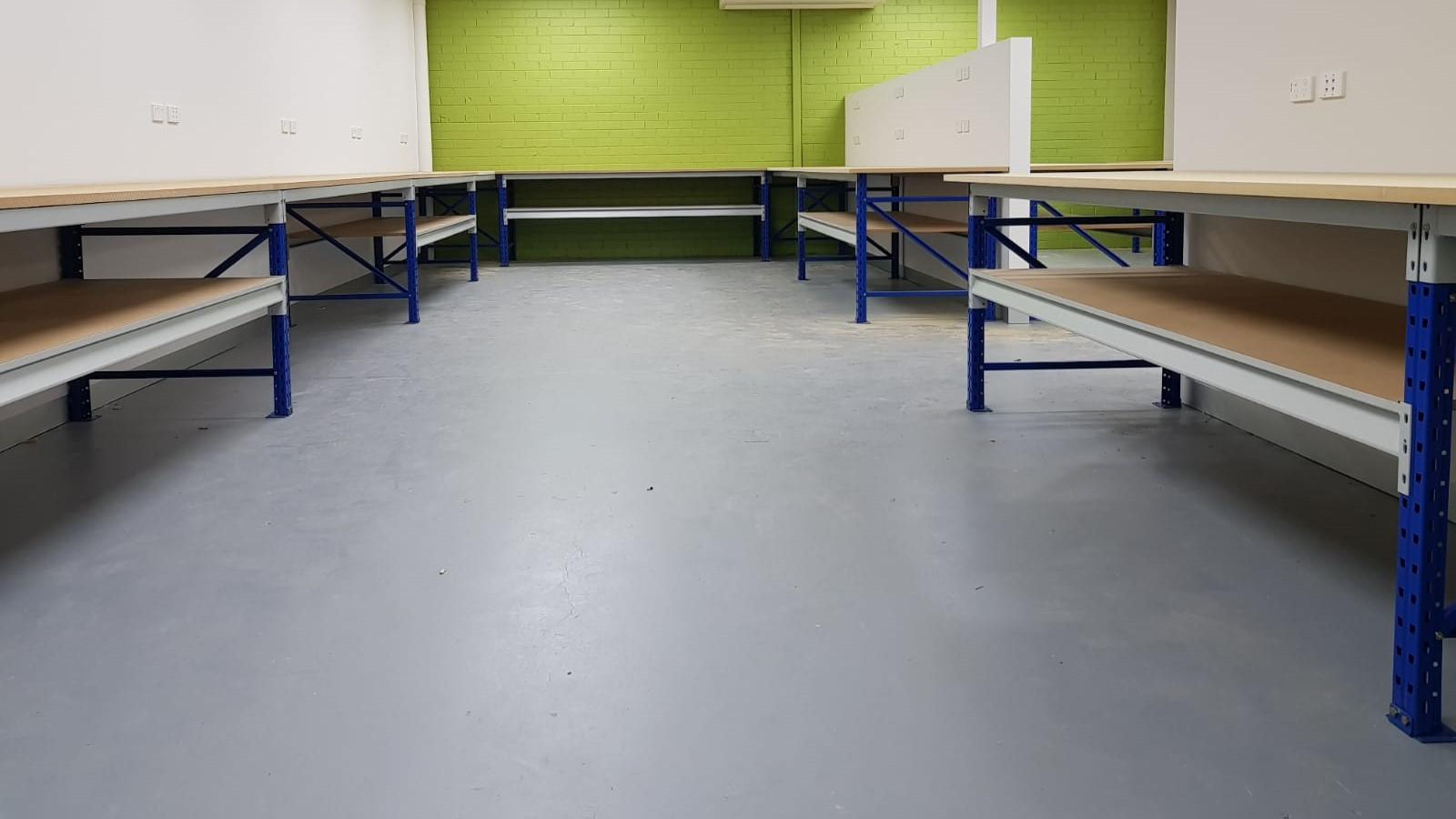 Storeplan Longspan Shelving Workbenches