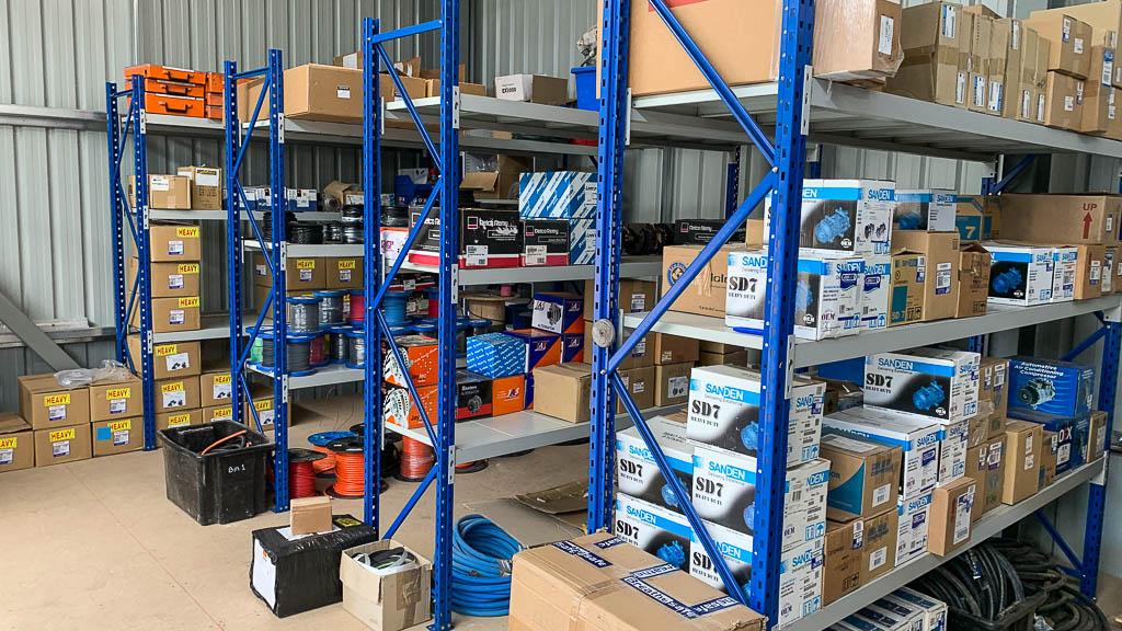 Longspan-Shelving-at-Automotive-Service-Parts-Warehouse