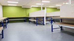 Longspan Workbenches for Computer Repairs