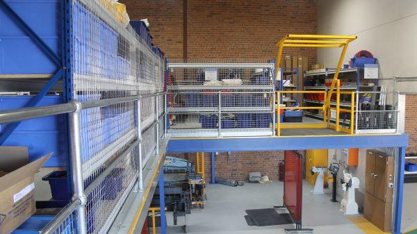 Structural Mezznaine Floor installed in Tamworth NSW