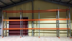 Pallet racking in the central west of NSW