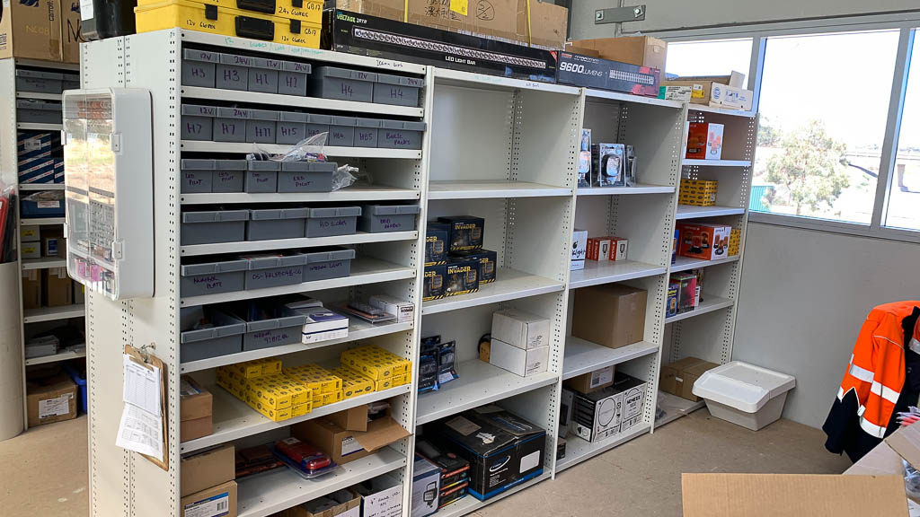 RUT Steel Shelving Automotive Service & Parts