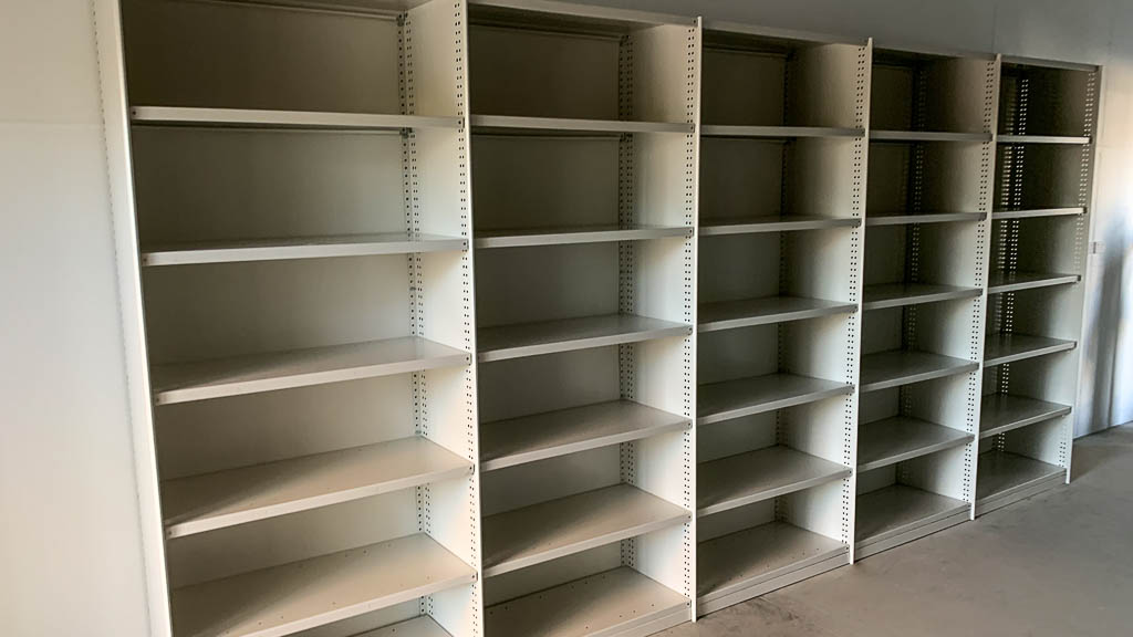 RUT Shelving for Parts Storage