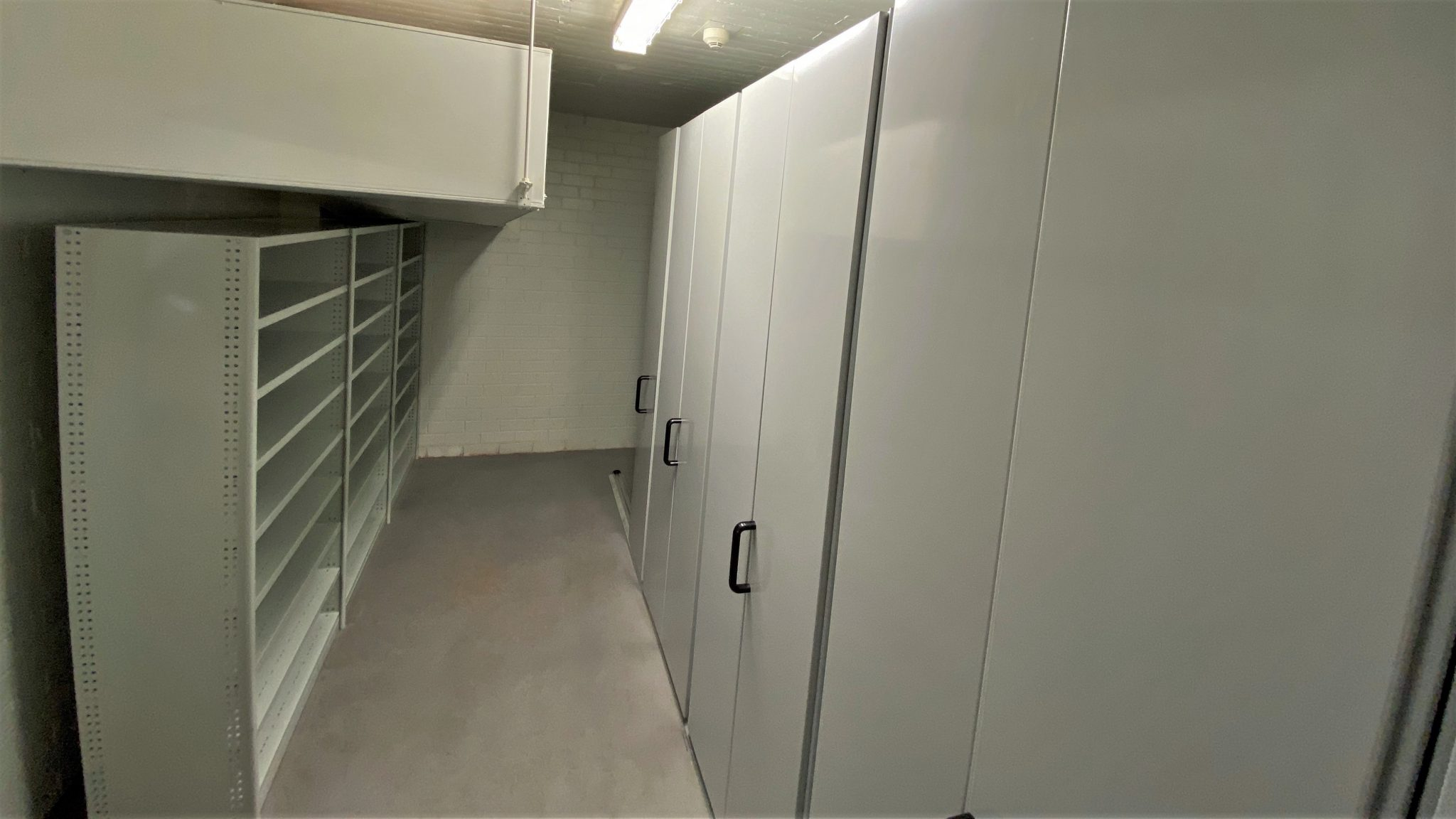 File-stroage-metal-shelving-and-compactus-unit