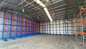 Indoor Cantilever Racking for Mining Contractor Muswellbrook New South Wales